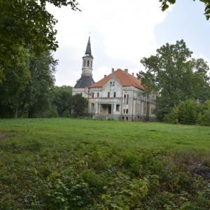 Gmina Lipka - pałac Debrzno Wieś